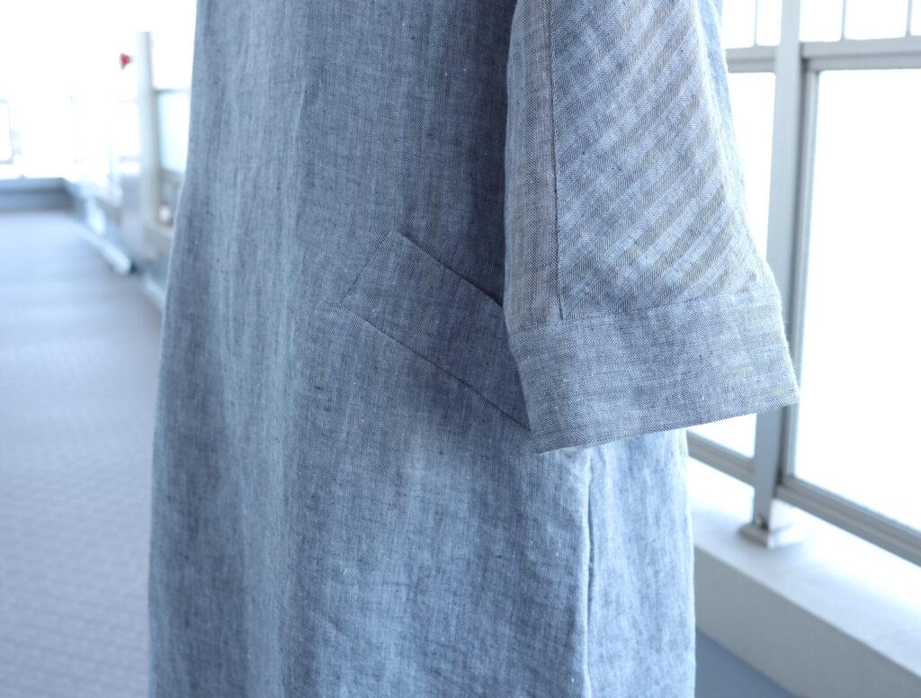 写真:袖とポケット