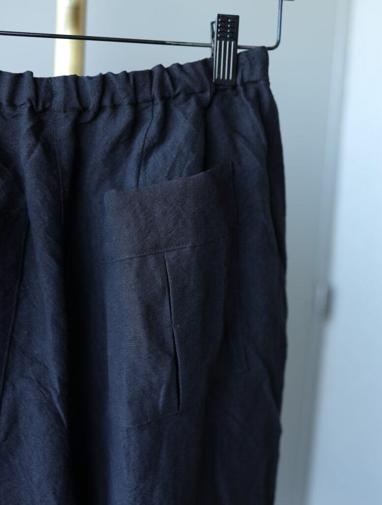 写真:バックのポケット