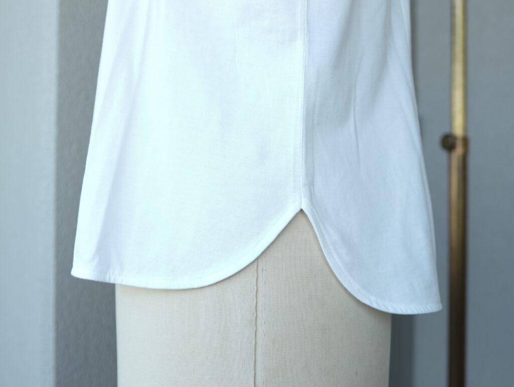 写真:裾のディティール